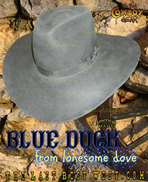 Blue Duck from Lonesome Dove