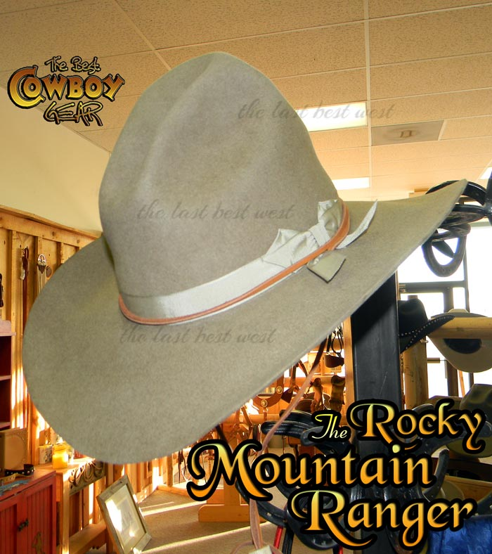 Rocky Mountain Ranger Cowboy Hat