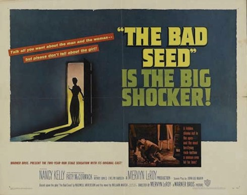 The Bad Seed film poster