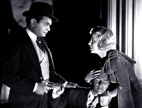 Edward G Robinson-Little-Caesar with Douglas Fairbanks jr. and Glenda Farrell