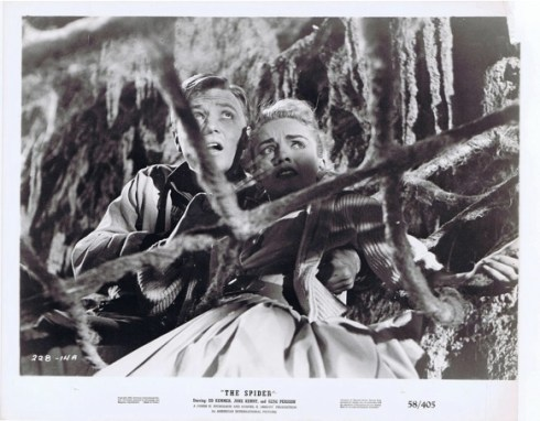 Earth vs The Spider lobby card