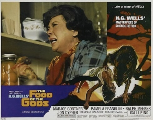 Food of the Gods Ida Lupino lobby card
