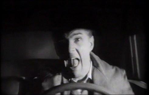 Horror+Hotel Richard in the car