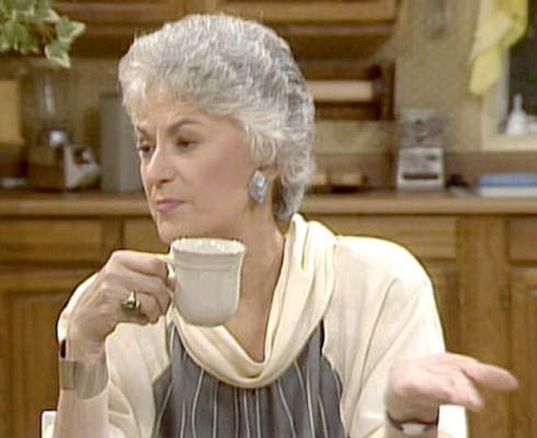 Bea Arthur as Dorothy Zbornak The Golden Girls