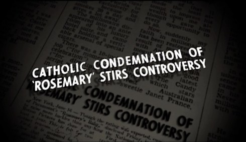 Catholic Condemnation clip