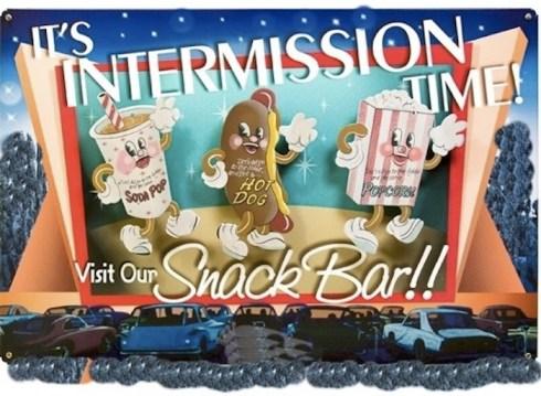 intermission snack bar