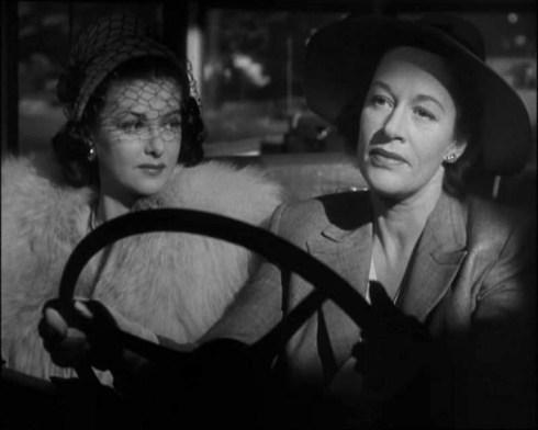 Anne Revere as the dominating sister Carand Joan Bennett in Secret Beyond The Door