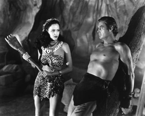Aquanetta and Tarzan