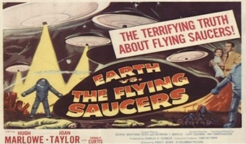 earth vs. flying saucers