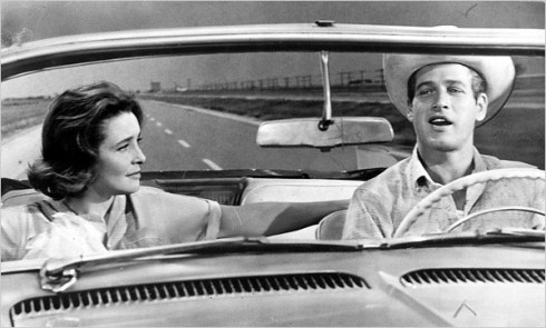 Patricia Neal and Newman in Hud
