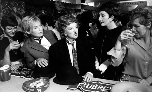 No Merchandising. Editorial Use Only Mandatory Credit: Photo by Everett Collection / Rex Features ( 534946B ) THE KILLING OF SISTER GEORGE, (ctr) Susannah York, Beryl Reid, Coral Browne - 1968 FILM STILLS
