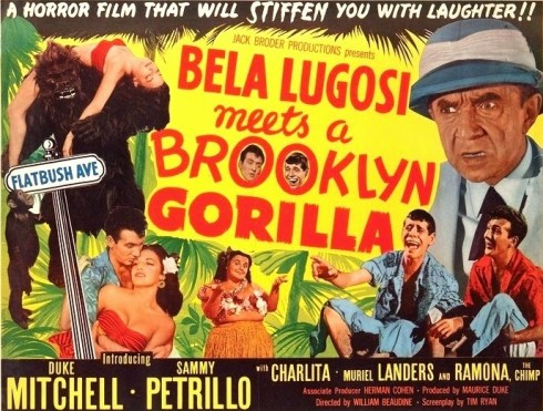 BELA Gorilla poster