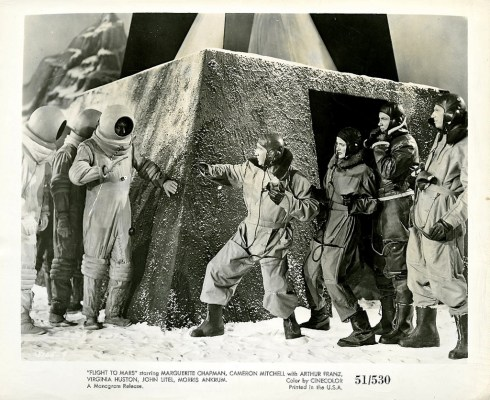 Flight To Mars 1951 B&W lobby card