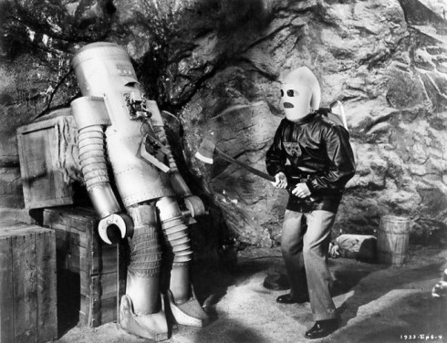 Radar Men From The Moon 1952 (Robot)