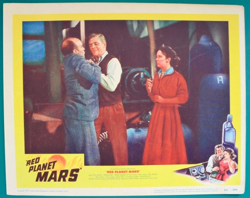 Red Planet Mars - Lobby Card