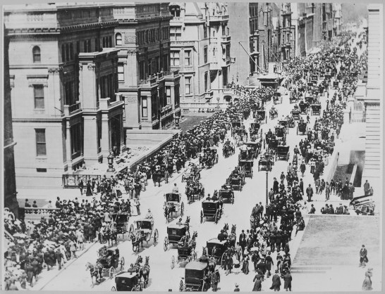New York Fifth Avenue in 1900