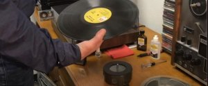 The Last Stand - how to make your own vinyl record platform for cleaning