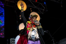 Lee Scratch Perry at The Beatyard 2016 (Photo by Stephen White) 10