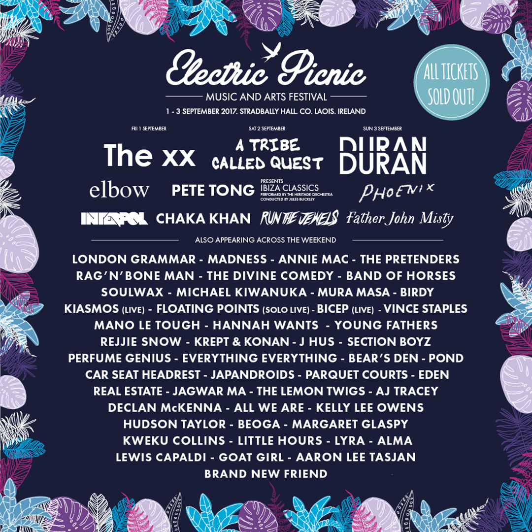 Electric Picnic 2017 | Elbow, Phoenix, Birdy, Rejjie Snow & more join line-up