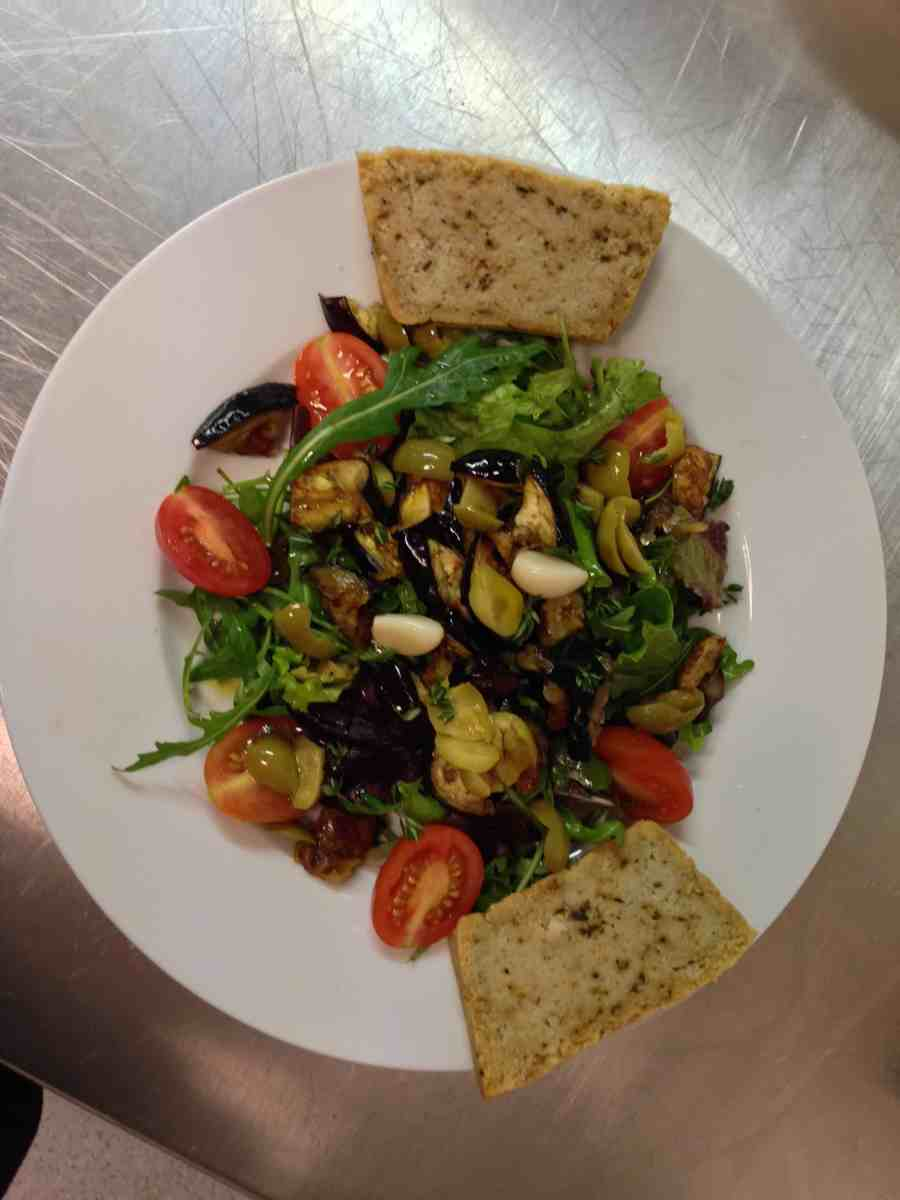 Vegan Greek Salad by The Late Chef