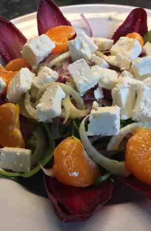 Clementine and Feta Salad - Kitchen Success