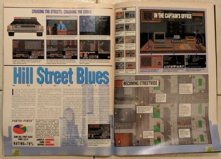 Licensed were exceedingly popular during the period as a means to help sell a game. In this case it was police drama Hill Street Blues.