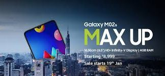 Samsung Galaxy M02S MAX UP