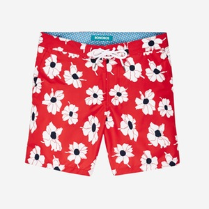 Bonobos 2 SWIM_Boardshort_7in_ValleyFloral_HighRiskRedWhiteOfficerNavy_category