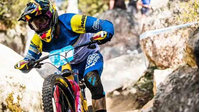 Australian world champion Sam Hill riding with SevenIDP.
