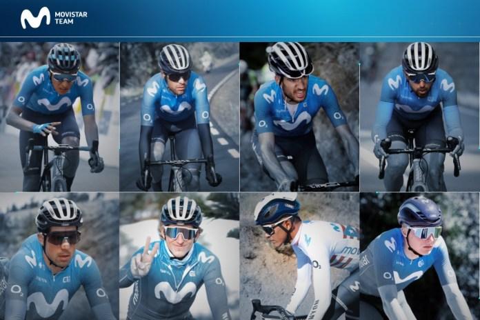 Movistar Team riders