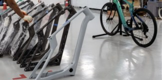 Arevo has released a range of 3D printed bike frames