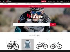 BikeExchange.com.au home page