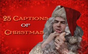 25 Captions of Christmas - Red