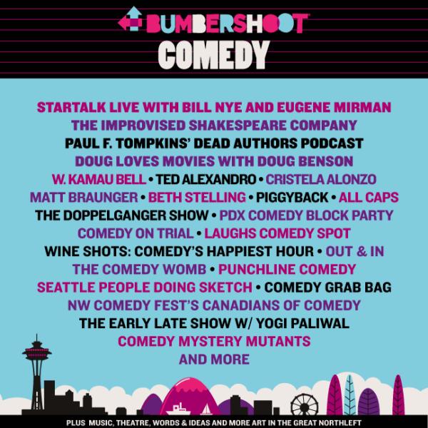bumb comedy lineup