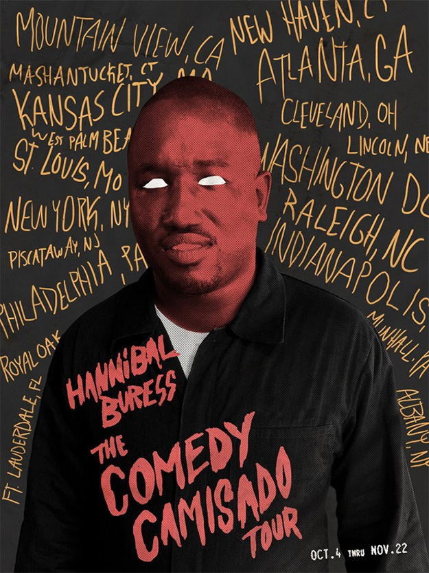 Hannibal Buress - Comedy Camisada