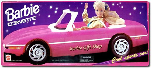 Vinnie's Vices barbie car