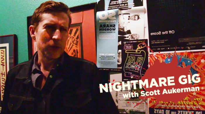 Nightmare Gig - Scott Aukerman