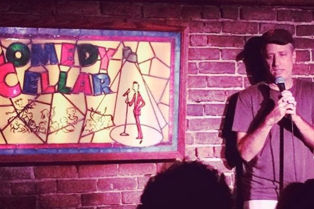 Jon Stewart drops in The Comedy Cellar for a surprise stand-up set
