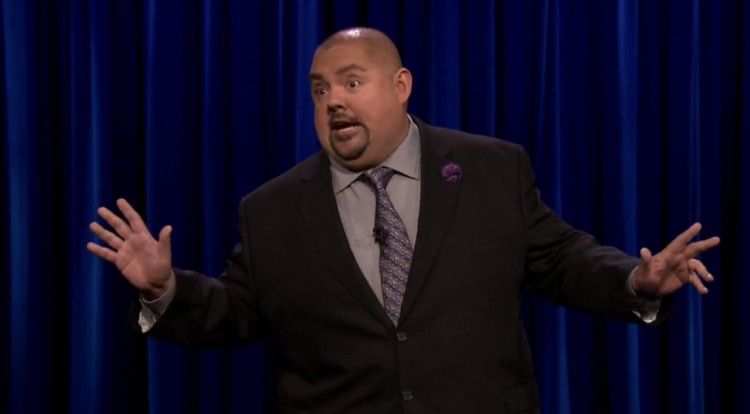 """Gabriel Iglesias on The Tonight Show, """"I heard you when I walked in, 'There goes Chris Christie.' Whatever"""""""