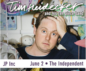 Tim Heidecker - 10 piece band