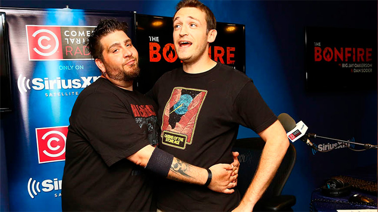 Dan Soder and Big Jay Oakerson