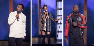 Photos (L-R): Chris Powell; Zainab Johnson; Kevin Tate (Credit for all: Aaron Rapoport/HBO)