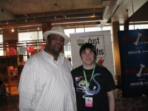 Photo: Patrice O'Neal and Mark Says Hi!