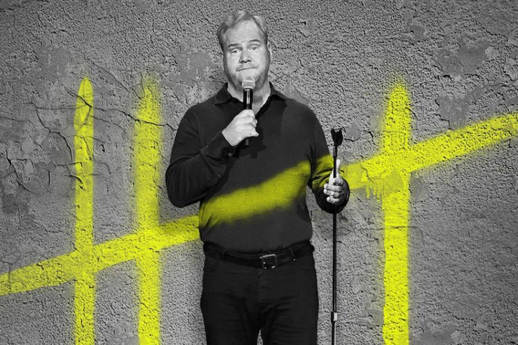 "Jim Gaffigan deconstructs daily idiosyncrasies with pinpoint perfection on ""Cinco"""