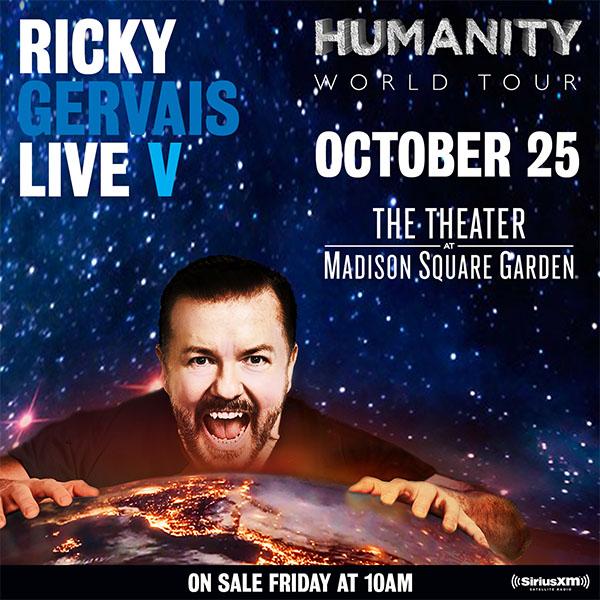 Ricky Gervais MSG