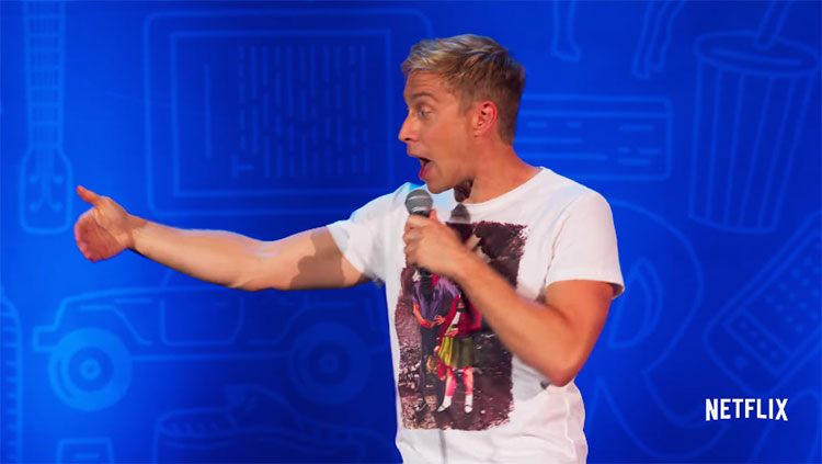 russell howard recalibrate youtube