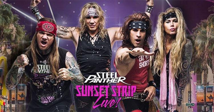 Steel Panther - Sunset Strip