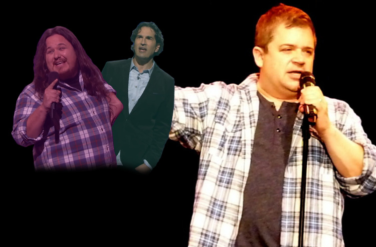 Patton Oswalt gives praise to Gary Gulman and Shane Torres for two killer bits he's envious of
