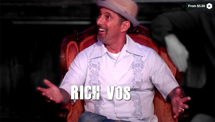 The Roast of Rich Vos is now available, go ahead and pick it up