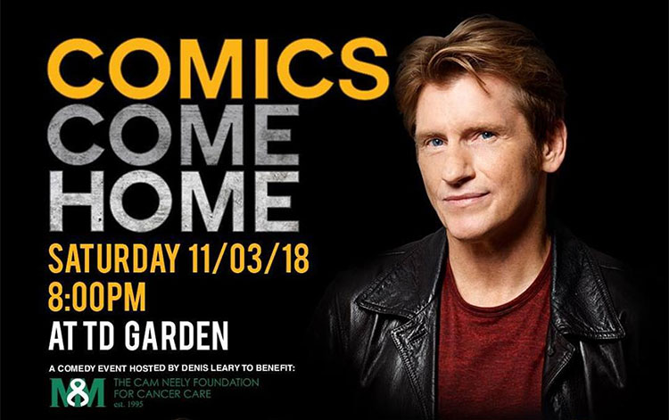 Brian Regan, Billy Gardell, Robert Kelly and more to perform at Denis Leary's Comics Come Home 2018
